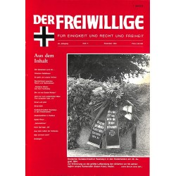 2007162 No. 11-1994 DER FREIWILLIGE - Waffen-SS veteran magazine -