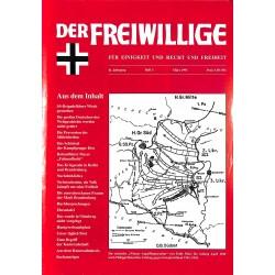 2007166 No. 3-1995 DER FREIWILLIGE - Waffen-SS veteran magazine -