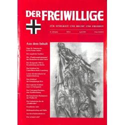 2007167 No. 4-1995 DER FREIWILLIGE - Waffen-SS veteran magazine -