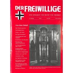 2007169 No. 6-1995 DER FREIWILLIGE - Waffen-SS veteran magazine -