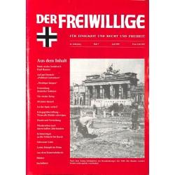 2007170 No. 7-1995 DER FREIWILLIGE - Waffen-SS veteran magazine -
