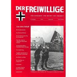 2007171 No. 8-1995 DER FREIWILLIGE - Waffen-SS veteran magazine -