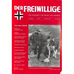 2007172 No. 9-1995 DER FREIWILLIGE - Waffen-SS veteran magazine -