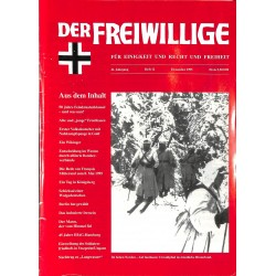 2007174 No. 12-1995 DER FREIWILLIGE - Waffen-SS veteran magazine -