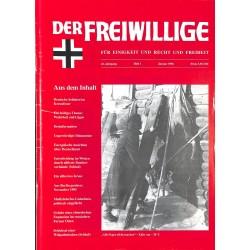 2007175 No. 1-1996 DER FREIWILLIGE - Waffen-SS veteran magazine -