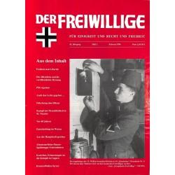 2007176 No. 2-1996 DER FREIWILLIGE - Waffen-SS veteran magazine -
