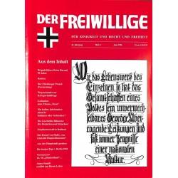 2007179 No. 6-1996 DER FREIWILLIGE - Waffen-SS veteran magazine -