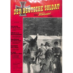 20071921	- No. 	1-1958 Der Deutsche Soldat german WWII magazine illustrated