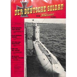 20071928	- No. 	8-1958 Der Deutsche Soldat german WWII magazine illustrated