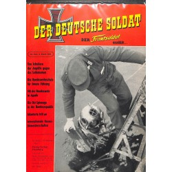 20071949	- No. 	5-1960 Der Deutsche Soldat german WWII magazine illustrated