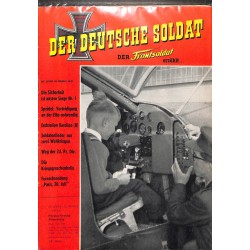 20071955	- No. 	10-1960	 Der Deutsche Soldat german WWII magazine illustrated