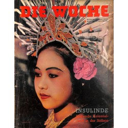 2626	 DIE WOCHE	-No.	20-1939		 WWII magazine - 	Holland's colonies, hunting with owls	, 42 pages,