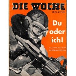 2638	 DIE WOCHE	-No.	42-1938		 WWII magazine - 	Aces fights, WWI 	, 46 pages,	,german illustrated magazine, many photos