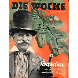 2645	 DIE WOCHE	-No.	52-1938		 WWII magazine - 	Silesia 	, 42 pages,	,german illustrated magazine, many photos