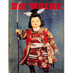 2651	 DIE WOCHE	-No.	9-1939		 WWII magazine - 	Japan, KdF company	, 42 pages,	,german illustrated magazine, many photos