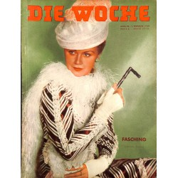 2653	 DIE WOCHE	-No.	5-1939		 WWII magazine - 		, 42 pages,	,german illustrated magazine, many photos