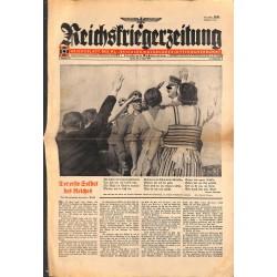 2716 REICHSKRIEGRZEITUNG-No.16-1940-military newspaper, rare