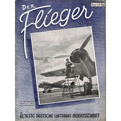 2732 DER FLIEGER-No.1-1941-WWII german aviation magazine  content:Messerschmitt Me 109 , Dornier Do 125, Curtiss