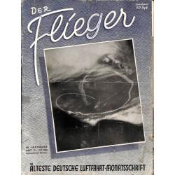 2752 DER FLIEGER-No.10-1943-WWII german aviation magazine  content:Dornier Do 18 Napier-Heston ranks of the US