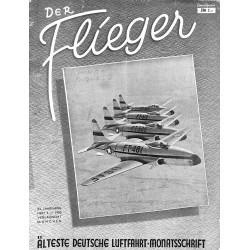 2757 DER FLIEGER-No.6-1950-WWII german aviation magazine  content:airplanes, technic, advertisments
