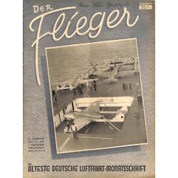 2762 DER FLIEGER-No.1/2-1951-WWII german aviation magazine  content:airplanes, technic, advertisments