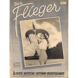 2763 DER FLIEGER-No.3-1951-WWII german aviation magazine  content:airplanes, technic, advertisments