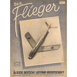 2764 DER FLIEGER-No.4-1951-WWII german aviation magazine  content:airplanes, technic, advertisments