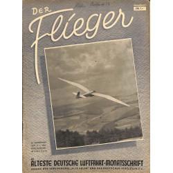 2765 DER FLIEGER-No.5-1951-WWII german aviation magazine  content:airplanes, technic, advertisments