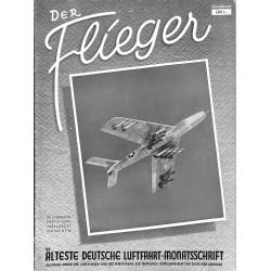 2766 DER FLIEGER-No.6-1951-WWII german aviation magazine  content:airplanes, technic, advertisments