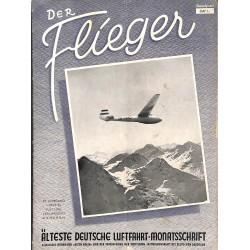 2767 DER FLIEGER-No.7-1951-WWII german aviation magazine  content:airplanes, technic, advertisments