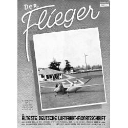 2773 DER FLIEGER-No.1-1952-WWII german aviation magazine  content:airplanes, technic, advertisments