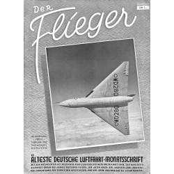 2774 DER FLIEGER-No.2-1952-WWII german aviation magazine  content:airplanes, technic, advertisments