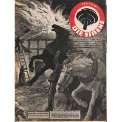 2848 DIE SIRENE No. 8-1944- Reichsluftschutzbund - RLB - Luftschutz magazine civil protection, firefighting, air raids