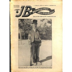 3149 ILLUSTRIERTER BEOBACHTER  Jews No. 49-1931-December 5