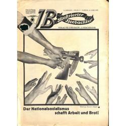 3311 ILLUSTRIERTER BEOBACHTER  Jews No. 11-1933-March 18