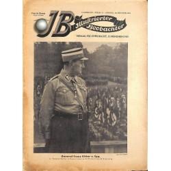 3341  ILLUSTRIERTER BEOBACHTER  No. 41-1933-October 14 vintage illustrated magazine