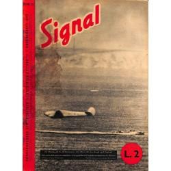 5305 SIGNAL-No.D/I13-1940 SIGNAL German/Italian issue - illustrated german magazine