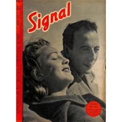 5315 SIGNAL-No.D7-1941 SIGNAL German issue - illustrated german magazineHitler, Wehrmacht, uniforms, decorations