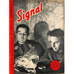 5325 SIGNAL-No.D17-1941 SIGNAL German issue - illustrated german magazineU-Boot submarine Helgoland Russia