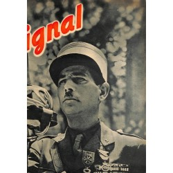 5367 SIGNAL-No.D16-1943 SIGNAL German issue - illustrated german magazineWehrmacht WWII soldiers, many photos, Dupuis