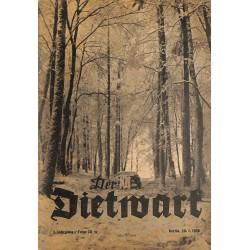 5742 DER DIETWART No.  20/ 3.yearJanuary 20 1938 content:Vom großen Fest des Jahres, Leibeserziehung als nordischer Kultur