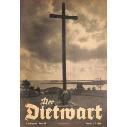 5743 DER DIETWART No.  23/ 3.yearMarch 5 1938 content:Heldengedenkag, Im Novemberstaat, Die toten Soldaten