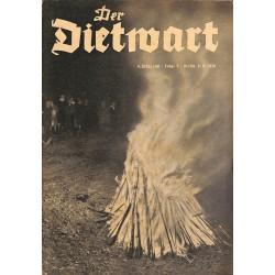5748 DER DIETWART No.  5/ 4.yearJune 5 1938 content:Der Deutsche Turnerbund in der DRL eingegliedert