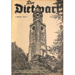 5754 DER DIETWART No.  12/ 4.yearSeptember 20 1938 content:Parteitag Großdeutschland, Sudetendeutschland, Konrad Henlein
