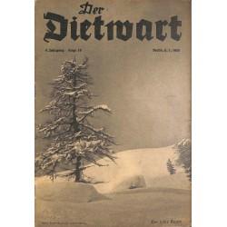 5761 DER DIETWART No.  19/ 4.yearJanuary 1 1939 content:Der Nationalsozialistischen Reichsbund für Leibesübungen