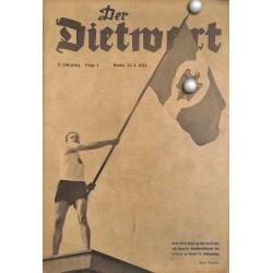 5763 DER DIETWART No.  2/ 5.yearApril 23 1939 content:Dem Führer, Unser Führer, Guideo von Mengden, Die Auszeichnungen