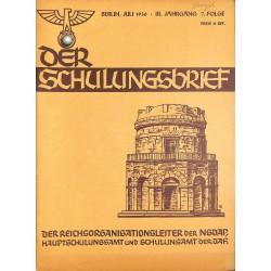 6409 DER SCHULUNGSBRIEF No. 7-1936-3rd year, JuneEin Vorkämpfer des Rassegedankens, Der Reichsgründer