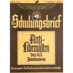 6427 DER SCHULUNGSBRIEF No. 7-1937-4th year, JulyAnti-Liberalisten des 19.Jahrnuderts: Immanuel Kant