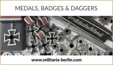Our Partner for Medals, Badges & Daggers - von Eicke - Militaria-Berlin